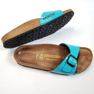 Birkenstock Madrid Single Strap Patent Leather